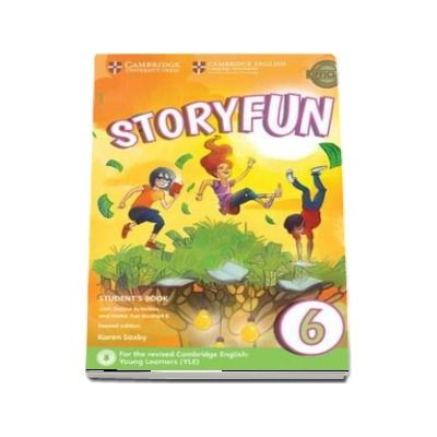 Storyfun 6. Students Book with Online Activities and Home Fun Booklet 6, Second edition