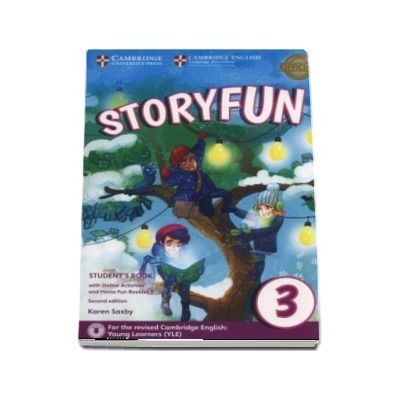 Storyfun for Movers Level 3 Students Book with Online Activities and Home Fun Booklet 3