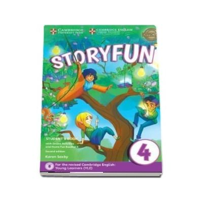 Storyfun for Movers Level 4 Students Book with Online Activities and Home Fun Booklet 4