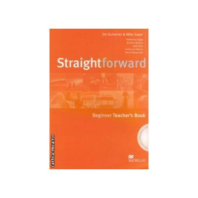 Straightforward Beginner Teachers Book with CD