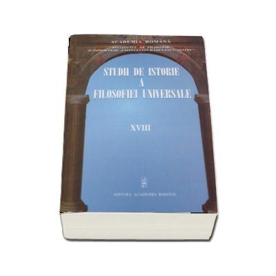 Studii de istorie a filosofiei universale volumul XVIII