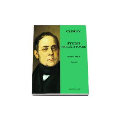 Studii pregatitoare pentru pian, Opus 849