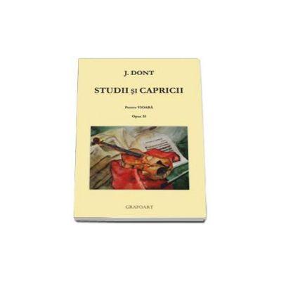 Studii si capricii pentru vioara opus 35