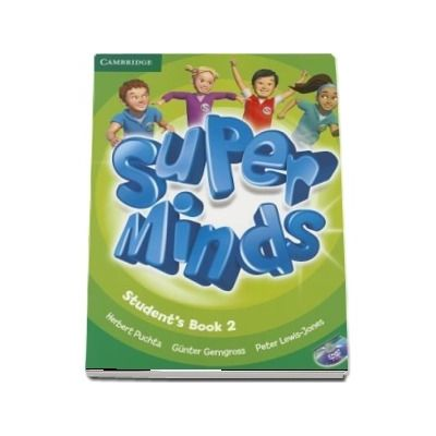 Super Minds Level 2 - Students Book with DVD-ROM