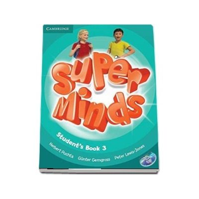 Super Minds Level 3 - Students Book with DVD-ROM