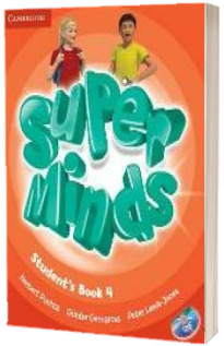 Super Minds Level 4 - Students Book with DVD-ROM