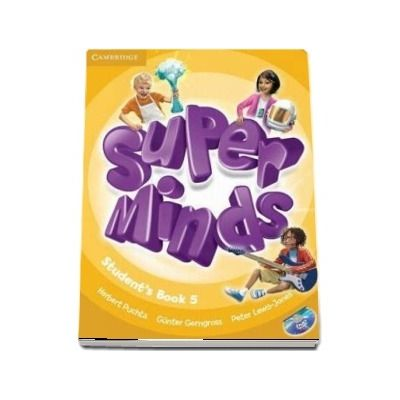 Super Minds Level 5 - Student s Book with DVD-ROM