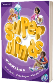 Super Minds Level 6 - Students Book with DVD-ROM