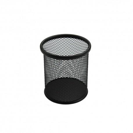 Suport birou cilindric negru, Ecada