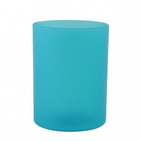 Suport cilindric instrumente de scris, albastru Ecada