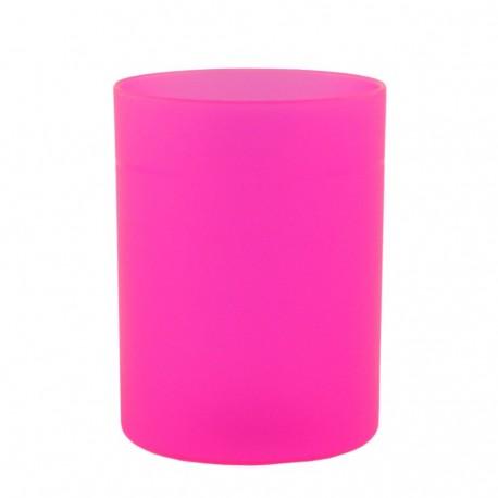 Suport cilindric pentru instrumente de scris, roz, Ecada