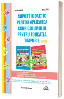 Suport didactic pentru aplicarea Curricumului pentru educatia timpurie nivel I