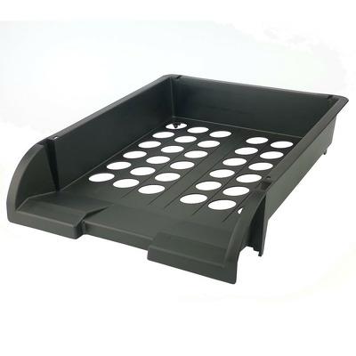 Suport orizontal documete, material PP negru