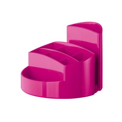 Suport pentru articole de birou, roz metalizat, Han Rondo
