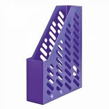 Suport vertical plastic pentru cataloage HAN Klassik Trend-colours - lila