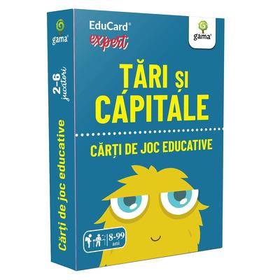Tari si capitale (Carti de joc educative)