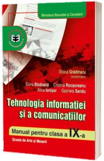 Tehnologia informatiei si a comunicatiilor cls. a IX-a