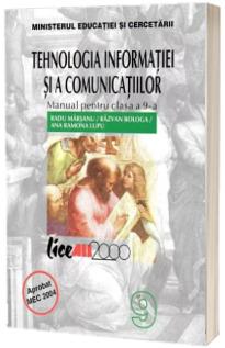 Tehnologia informatiei si comunicatiilor. Manual pentru clasa a IX- a( Marsanu)
