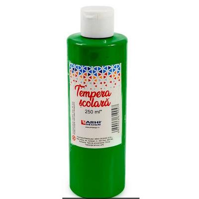 Tempera scolara 250 ml, Verde Inchis