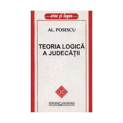 Teoria logica a judecatii