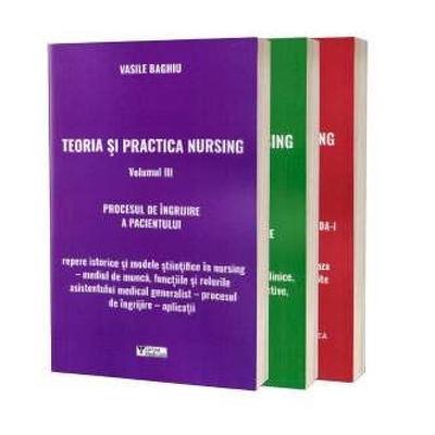 Teoria si practica nursing, set de 3 carti, Vasile Baghiu