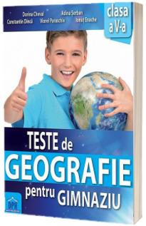 Teste de Geografie pentru gimnaziu clasa a V-a