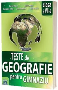 Teste de Geografie pentru gimnaziu clasa a VII-a