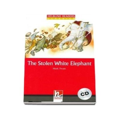 The Stolen White Elephant with Audio CD.  Level 3
