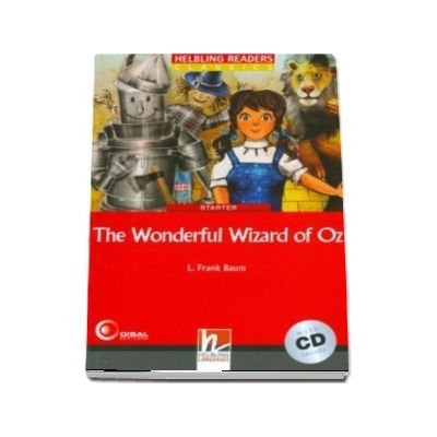 The Wonderful Wizard of Oz - Book and Audio CD Pack - Level 1