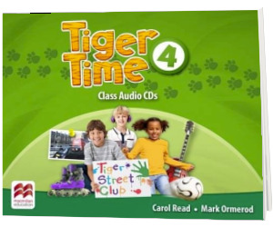 Tiger Time, Level 4. Audio CD