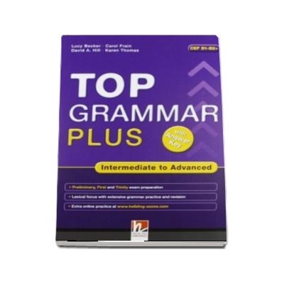 Top Grammar Plus Intermediate to Advanced With Answer Key