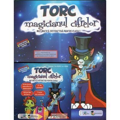 Torc - magicianul cifrelor. Matematica distractiva pentru clasa I (Contine CD cu soft educational)