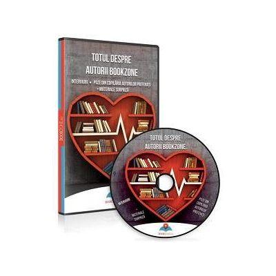 Totul despre autorii Bookzone - Format DVD. Interviuri, Poze din copilaria autorilor preferati si Materiale surpriza