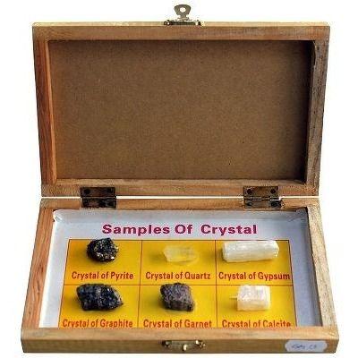 Trusa scolara. Cristale minerale, 6 specii