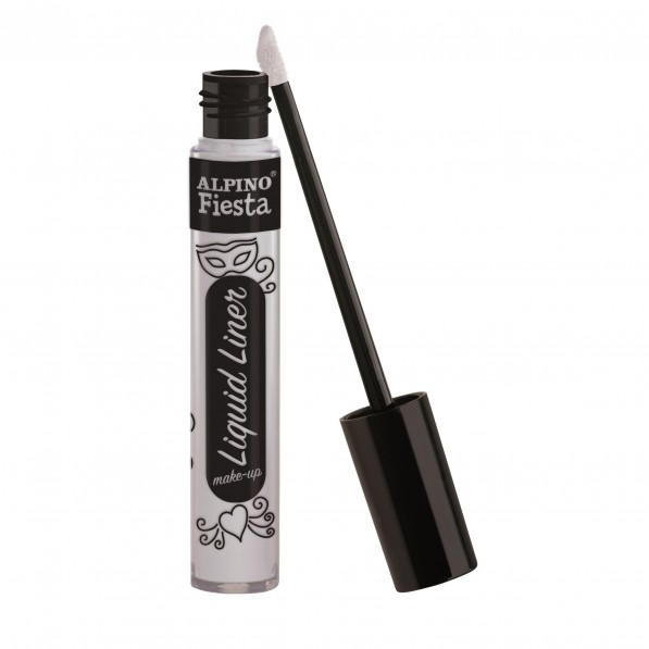 Tub machiaj, 6gr., ALPINO Make-Up Liquid Liner - alb