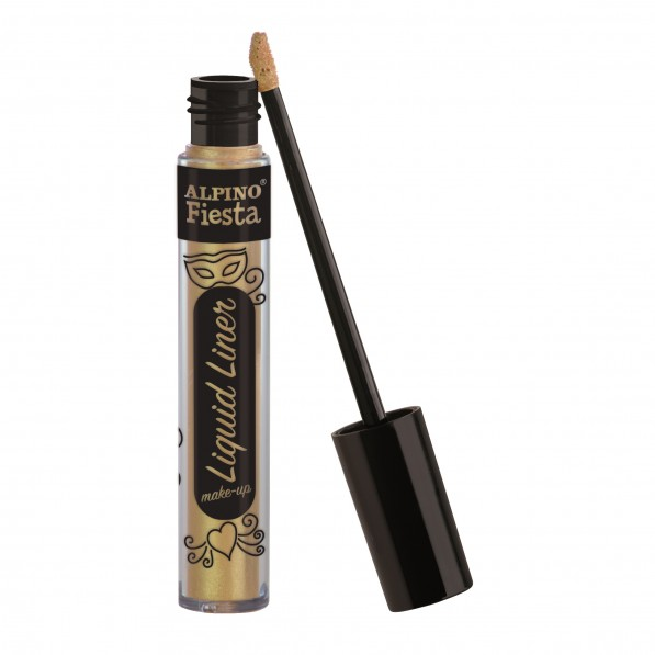 Tub machiaj, 6gr., Alpino Make-Up Liquid Liner - auriu