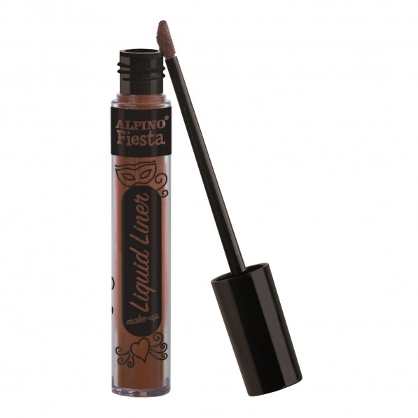 Tub machiaj, 6gr., Alpino Make-Up Liquid Liner - maro