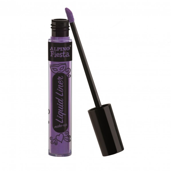 Tub machiaj, 6gr., Alpino Make-Up Liquid Liner - violet