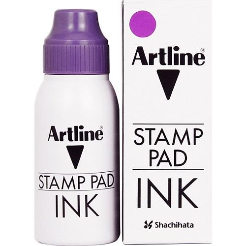 Tus ARTLINE, pentru stampile, 50ml - violet