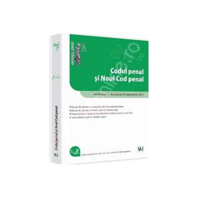 Codul penal si Noul Cod penal Ad litteram. Actualizat 24 septembrie 2012