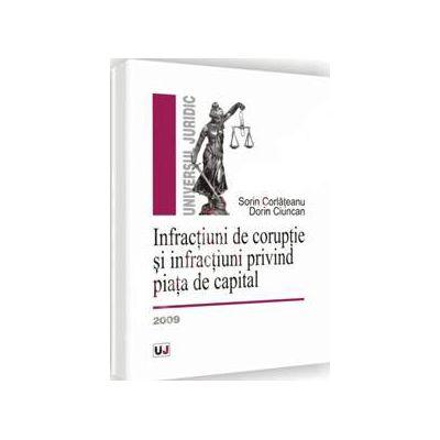 Infractiuni de coruptie si infractiuni privind piata de capital