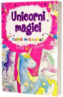 Unicorni magici. Carte de colorat