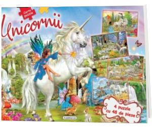 Unicornii - Carte puzzle