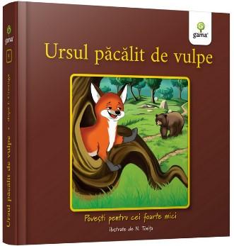 Ursul pacalit de vulpe - Colectia Povesti pentru cei foarte mici