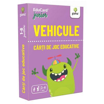 Vehicule, Carti de joc educative 2-4 ani
