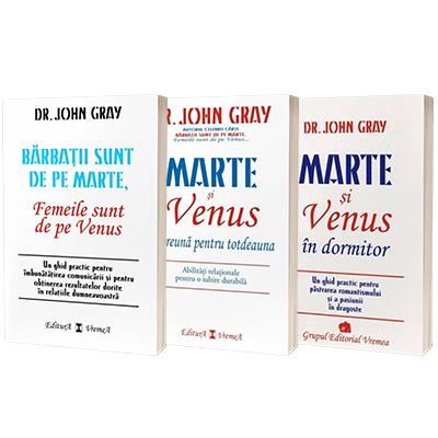 Dr. John Gray, Marte si Venus - Pachet 3 carti