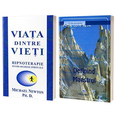 Set 2 carti - Viata dintre vieti si Definind Maestrul