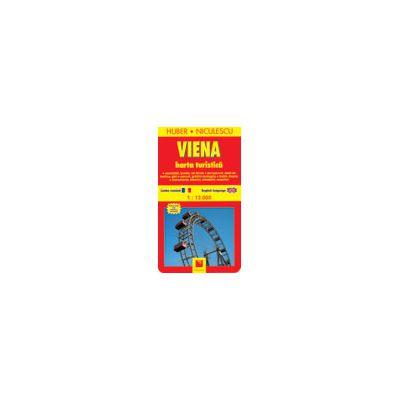 Viena Harta Turistica 11 81 Lei Librariaonline Ro