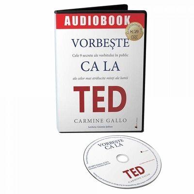 Vorbeste ca la TED. Audiobook