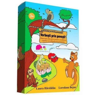 Vorbesti prin povesti. Materiale educative pentru consilierea copiilor cu tulburari de pronuntie
